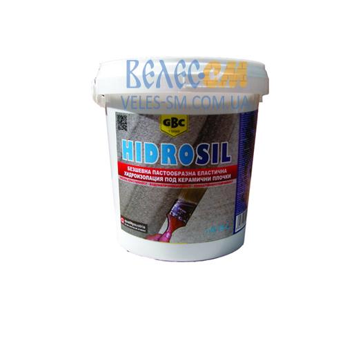 Эластичная гидроизоляция GBC Hidrosil для влажных помещений (0.75 л)