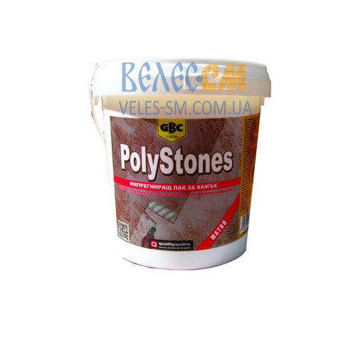 Водорастворимый лак GBC Polystones для камня, керамики и бетона (2.5 л)