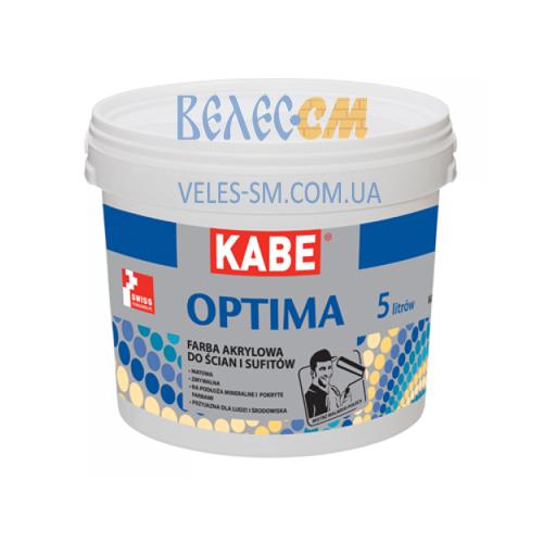 Акриловая краска для внутренних работ OPTIMA (5 л)