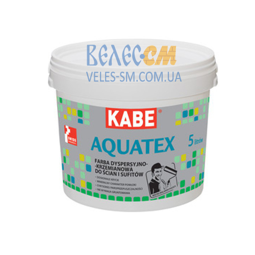 Краска Farby Kabe AQUATEX для внутренних работ (5 л)