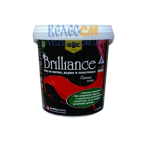 Глянцевая краска для дерева и металла GBC Brilliance AQUA (0.75 л)