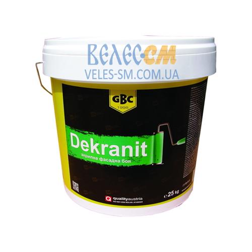 Матовая краска GBC Dekranit для наружных работ (15 л)