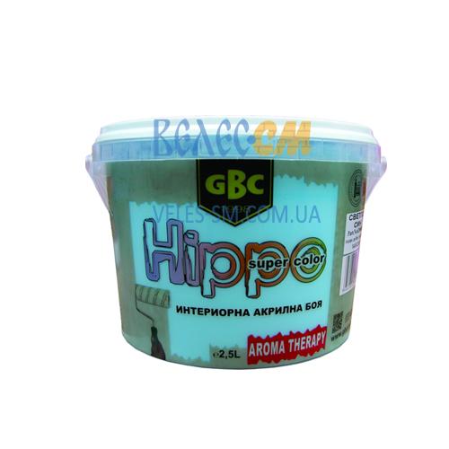 Акриловая краска GBC Hippo для стен и потолков (2.5 л)
