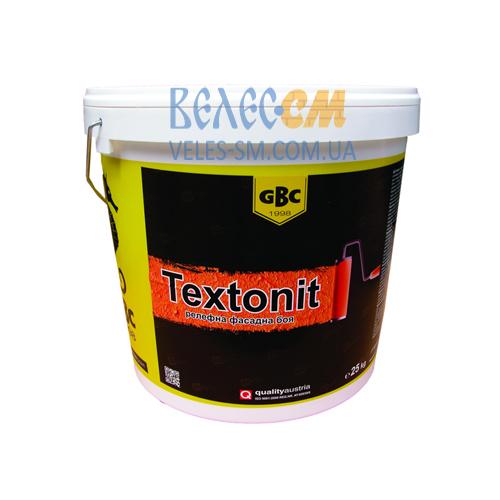 Краска рельефная фасадная GBC Textonit (15 л)
