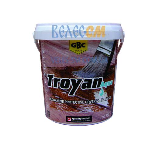 Декоративное и защитное покрытие для дерева GBC Troyan Aqua (0.75 л)