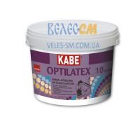 Латексная краска Farby Kabe OPTILATEX для внутренних работ (10 л)