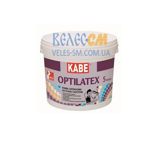 Латексная краска Farby Kabe OPTILATEX для внутренних работ (5 л)