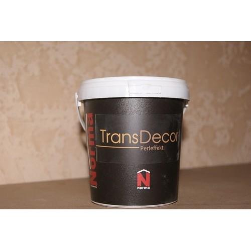 Декоративная прозрачная перламутровая краска Norma Trans Decor (1 л)
